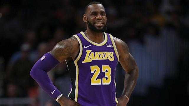 LeBron James, 33, is trying to recruit a superstar to the Los Angeles Lakers.