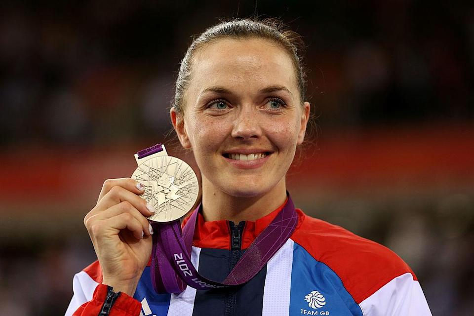 Victoria Pendleton on Day 11 of the London 2012 Olympic Games at Velodrome on August 7, 2012 in London, England.