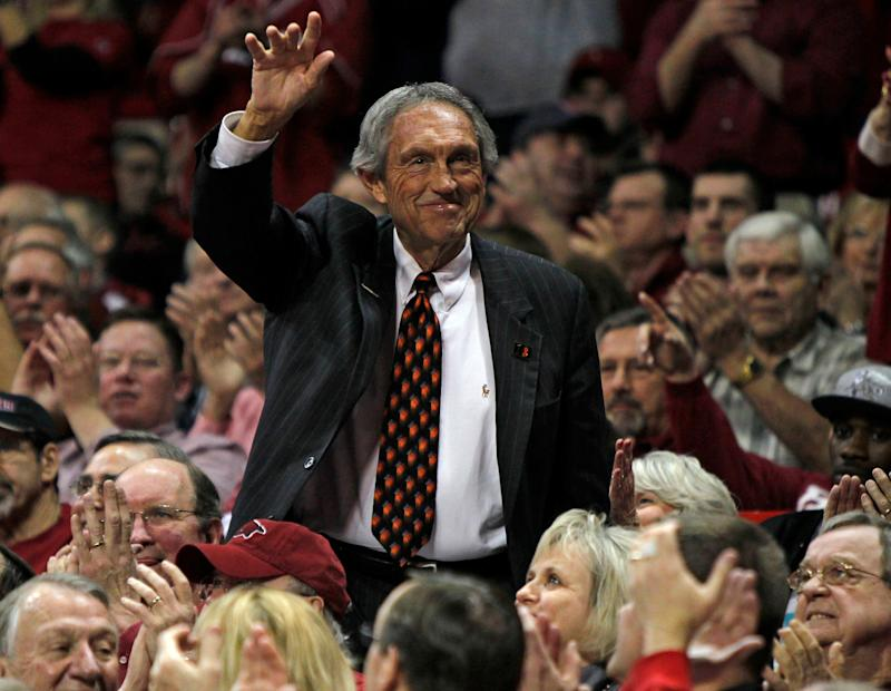 Longtime college basketball coach and Hall of Famer Eddie Sutton died on Saturday at 84.
