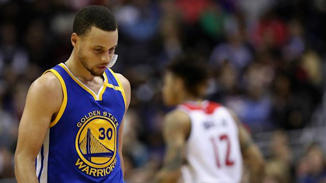 Many big name NBA players are upset at how Stephen Curry is treated.