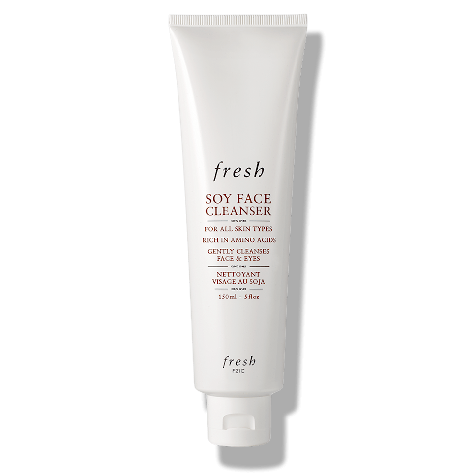 best-skincare-routine-for-40s-Fresh Soy Face Wash