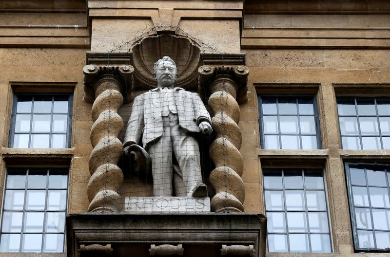 PM Johnson says statue of colonialist Rhodes should not be pulled down