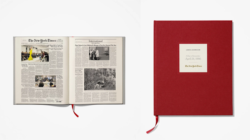 Best gifts for grandpa 2019: New York Times Special Day Book