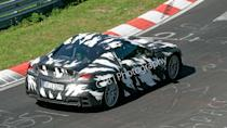 """<p>The spy shots go to show the project was in an advanced development phase, with the car likely earmarked for a 2009 launch.</p> <p>The new supercar was indirectly previewed in 2007 by the <a href=""""https://www.motor1.com/photos/435684/acura-advanced-sports-car-concept-debuts/"""" rel=""""nofollow noopener"""" target=""""_blank"""" data-ylk=""""slk:Acura Advanced Sports Car Concept"""" class=""""link rapid-noclick-resp"""">Acura Advanced Sports Car Concept</a>.</p>"""