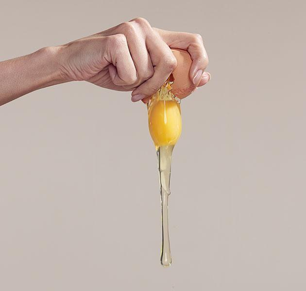 Be extra cautious when eating raw egg. Source: Getty Images.