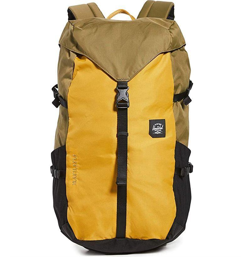 "<p><strong>Herschel</strong></p><p>amazon.com</p><p><strong>$46.74</strong></p><p><a href=""https://www.amazon.com/dp/B07W7KFWPY?tag=syn-yahoo-20&ascsubtag=%5Bartid%7C10054.g.32936561%5Bsrc%7Cyahoo-us"" rel=""nofollow noopener"" target=""_blank"" data-ylk=""slk:Buy"" class=""link rapid-noclick-resp"">Buy</a></p><p>An absolute unit of a <a href=""https://www.esquire.com/style/mens-accessories/advice/g3286/best-backpacks-for-men/"" rel=""nofollow noopener"" target=""_blank"" data-ylk=""slk:bag"" class=""link rapid-noclick-resp"">bag</a>. </p>"