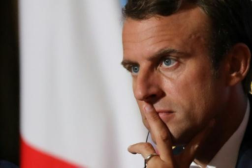 Macron says fighting 'Islamist terror' top foreign priority