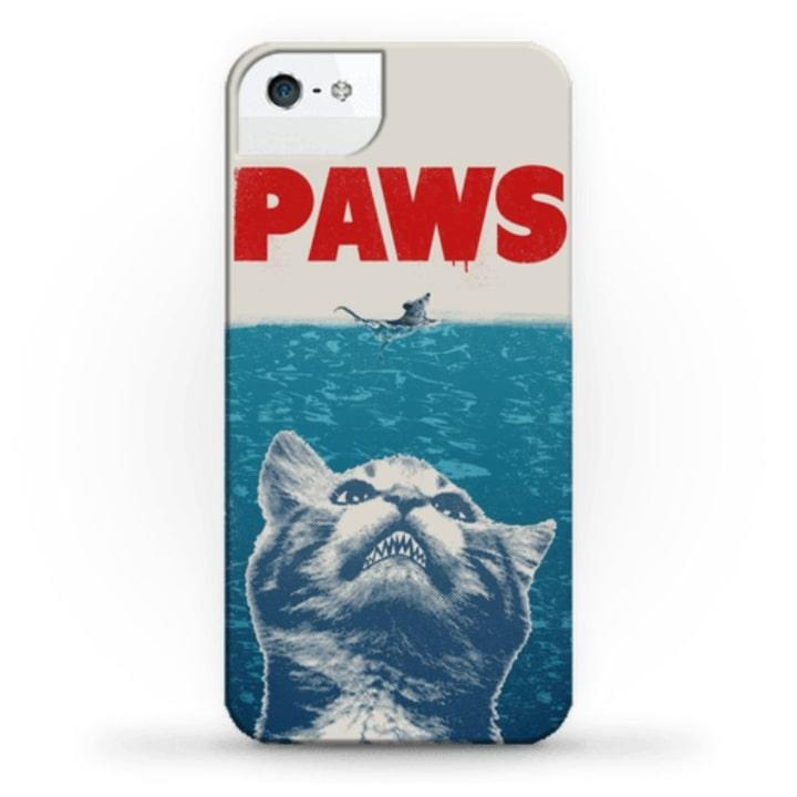 Cat lovers won't have to, ahem, give much paws over this parody case. (Human, $26)