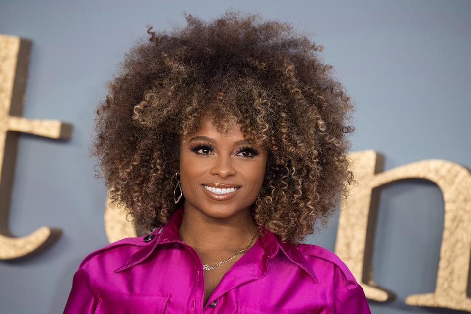 """LONDON, ENGLAND - SEPTEMBER 09: Fleur East attends the """"Downton Abbey"""" World Premiere at Cineworld Leicester Square on September 09, 2019 in London, England. (Photo by Jeff Spicer/Getty Images)"""