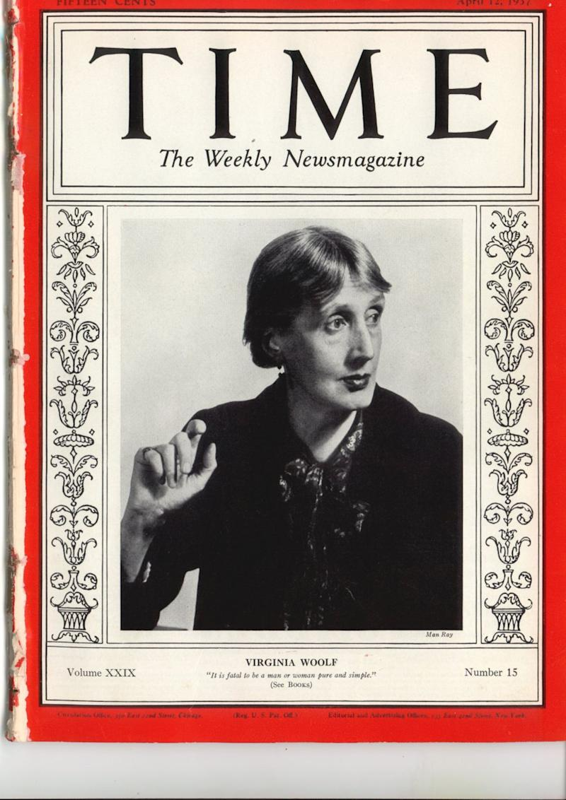 Virginia Woolf on the cover of TIME's April 12, 1937 issue | TIME