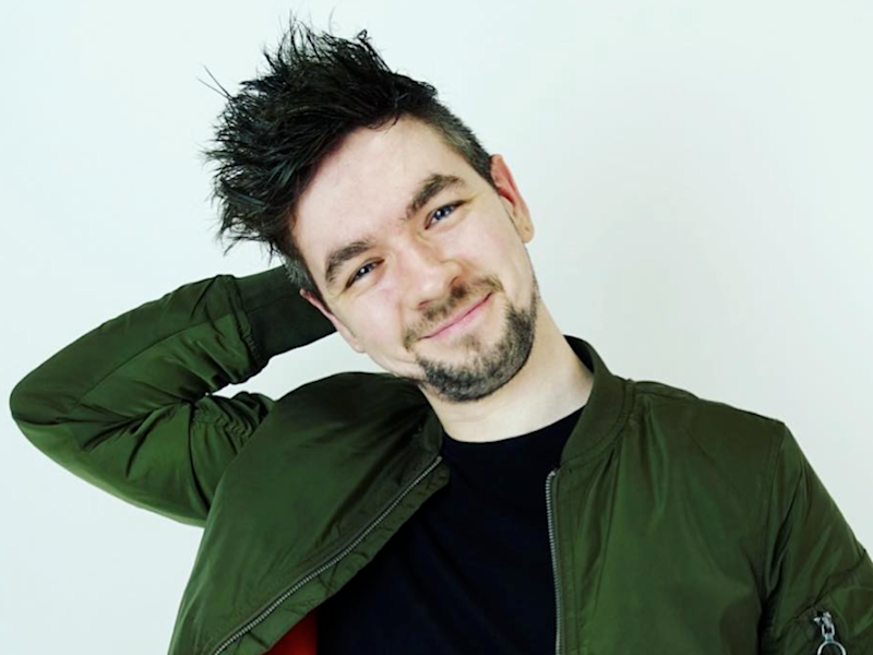 WME CLIENT Seán McLoughlin AKA JackSepticEye, McLoughlin has more than 20 million YouTube subscribers and is the UK's biggest gamer Credit WME