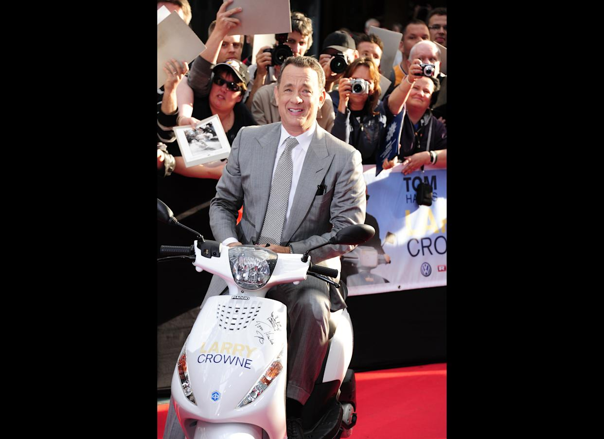 Tom Hanks And Stephen Colbert Are Ready To Fight Over Christmas Tree