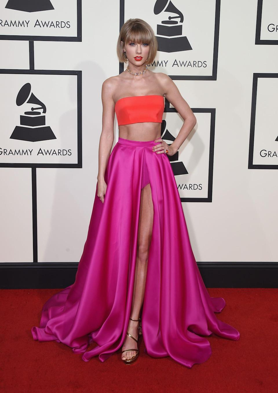 taylor swift 2016 grammys