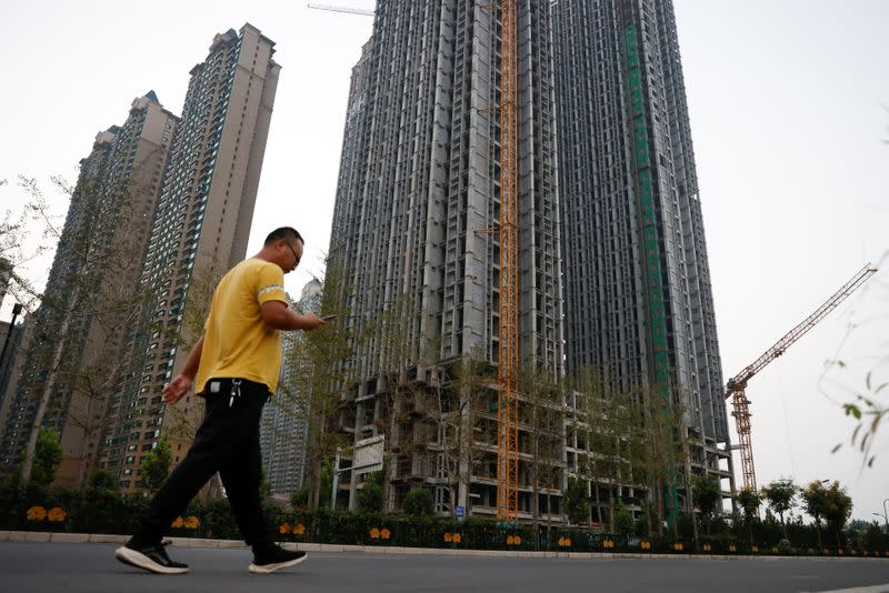 Evergrande Oasis housing complex developed by Evergrande Group, in Luoyang