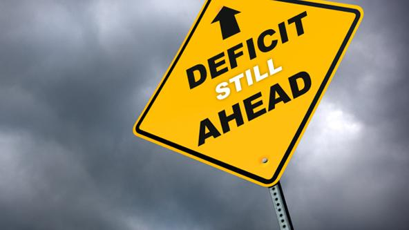 First-Quarter Deficit Grew by 12%, CBO Projects