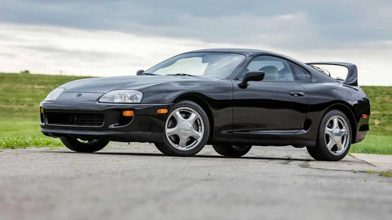 Break The Bank With This Low-Mileage 1993 Toyota Supra TT