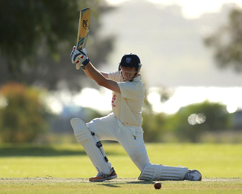 Daniel Hughes of New South Wales bats during day three of the Futures League match between Western Australia and New South Wales at Richardson Park on October 16, 2013 in Perth, Australia.  (Photo by Paul Kane/Getty Images)