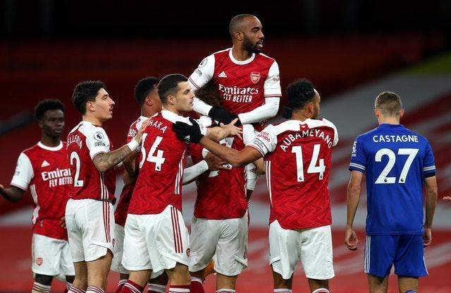 Lacazette thought he had put Arsenal ahead early on but the celebrations proved premature.