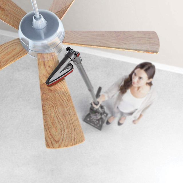 Hoover WindTunnel 2 Whole House Rewind Corded Bagless Upright Vacuum Cleaner. (Photo: Amazon)