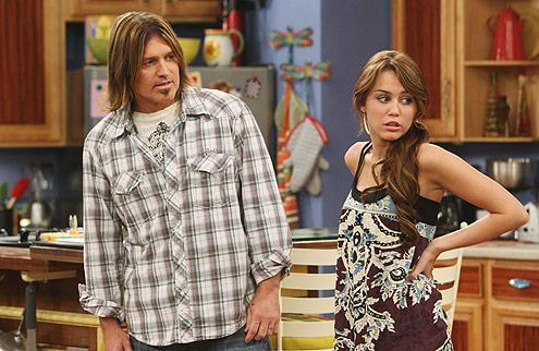 Billy Ray and Miley