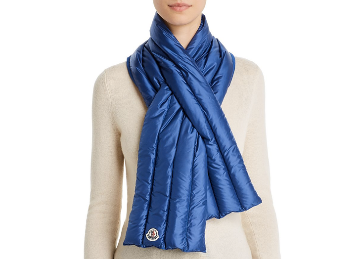 Puffer Scarves Are the Baby Duvets You Need Around Your Neck This Winter - Yahoo Lifestyle