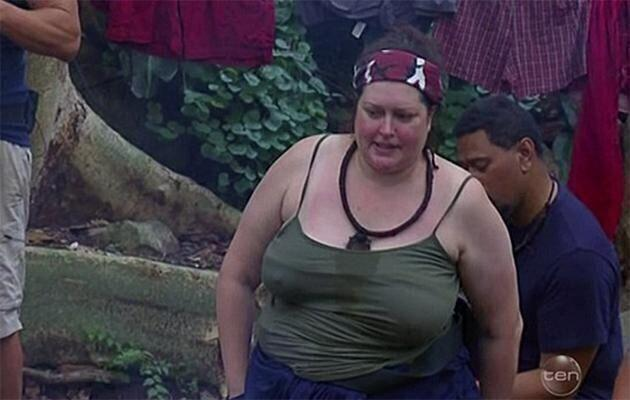 The weight loss came after a very public return to the spotlight on I'm a Celebrity Get Me Out of Here in 2017. Photo: Channel 10
