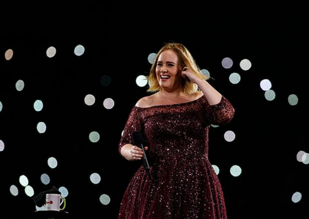 Adele was performing in Adelaide when Ms Newman suffered the allergic reaction. Photo: Getty
