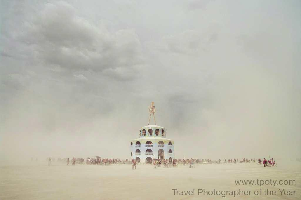 Dust storm approaching Burning Man Festival, USA<br><br>Lung Liu, Canada<br><br>Camera: Pentax K20D	 <br><br>Winner, Journeys portfolio