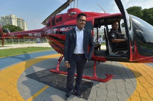 Whitesky Aviation chief executive Denon Prawiraatmadja has ambitious plans to expand the service's current fleet of five helicopters