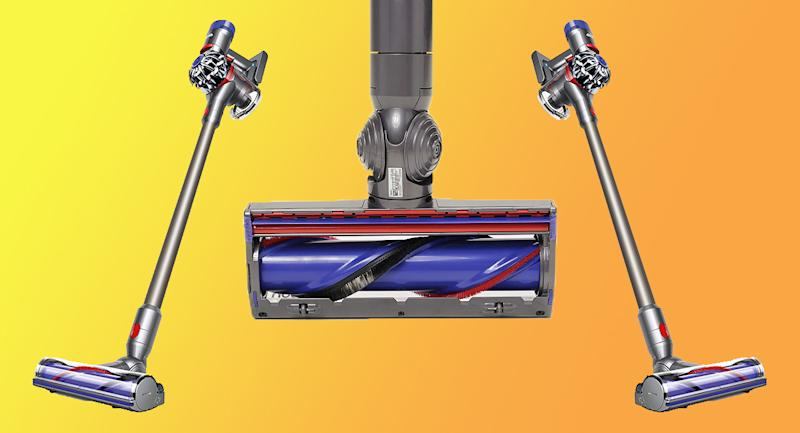 The Dyson V8 Animal is surprisngly ferocious. (Photo: QVC)