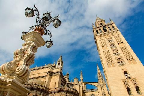 <span>Seville, the capital of Andalusia</span> <span>Credit: ALAMY </span>