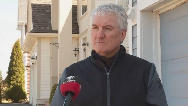 Keith Ford's daughter Sydney will have to self-isolate in his home for two weeks after returning from Mount Allison University in Sackville, N.B.