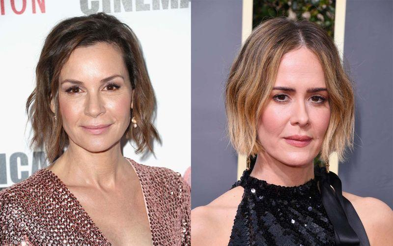 """<p>Despite the striking similarity, Paulson did in fact not star in Matilda.</p><p>In fact it was the Emmy award winning actor's lookalike Davidtz, who did play Miss Honey in the beloved 1996 movie. And this discovery led to somewhat of a <a href=""""https://twitter.com/shanedawson/status/871970801259393024?ref_src=twsrc%5Etfw%7Ctwcamp%5Etweetembed%7Ctwterm%5E871970801259393024%7Ctwgr%5E%7Ctwcon%5Es1_&ref_url=https%3A%2F%2Fwww.instyle.com%2Fnews%2Fsarah-paulson-doppelganger-matilda-miss-honey-twitter"""" rel=""""nofollow noopener"""" target=""""_blank"""" data-ylk=""""slk:'Mandala Effect' moment in 2017."""" class=""""link rapid-noclick-resp"""">'Mandala Effect' moment in 2017.</a></p>"""