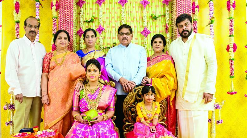 Grand Wedding Celebrations Of Tollywood's Star Chiranjeevi ...