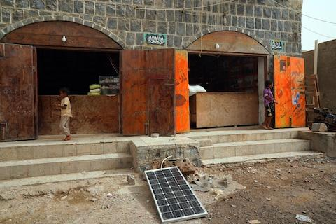 Those who can afford solar panels have found a way to get round power outages - Credit: Susan Schulman