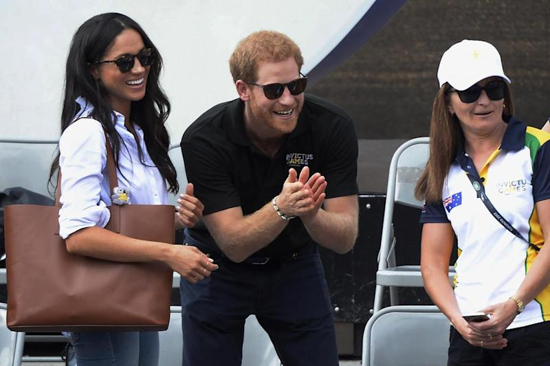 Royal watchers will see the public appearance as a milestone in their relationship (AP)