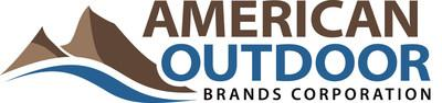 American Outdoor Brands Corporation logo unveiled December 13, 2016.