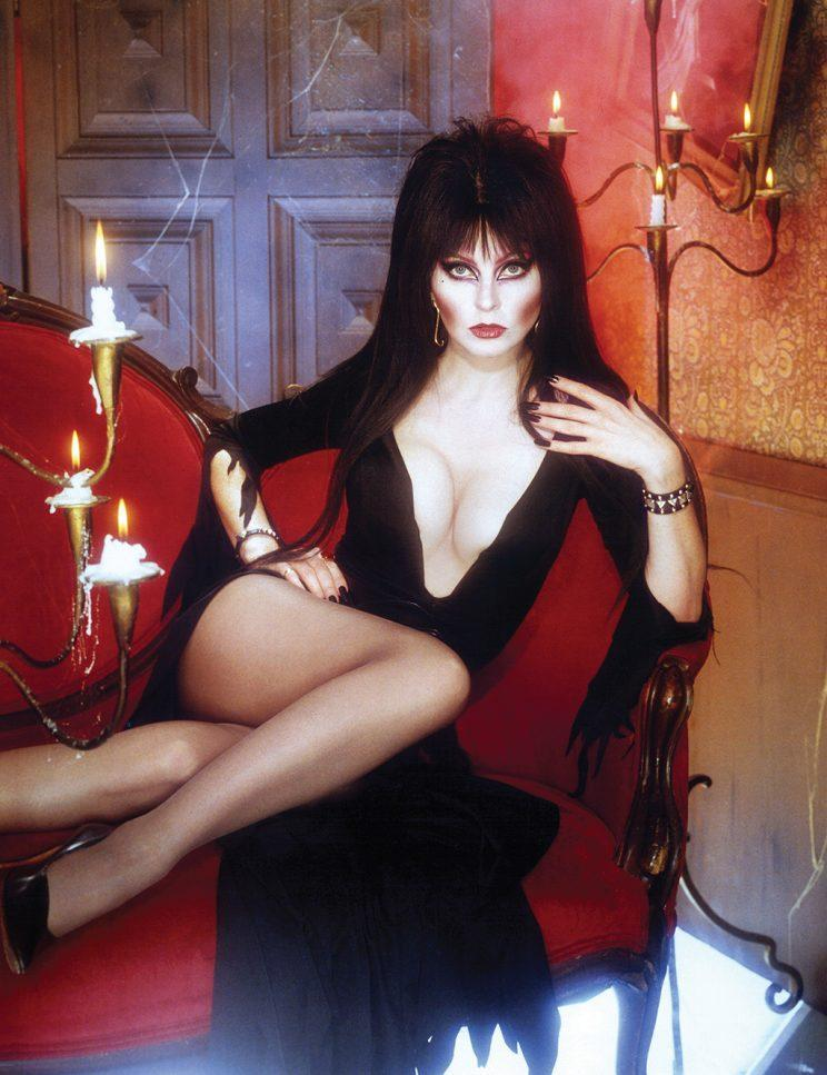 Elvira in her early days on L.A. television (Photo: Harry Langdon)