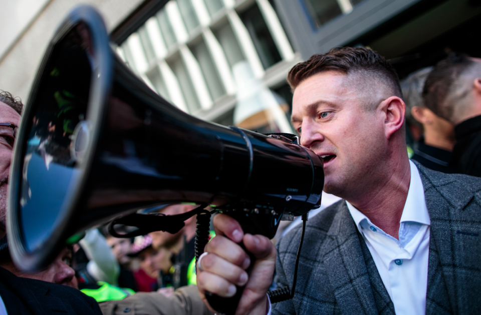 <em>A former Ukip leader believes Tommy Robinson can teach Muslims about the Quran (Getty)</em>
