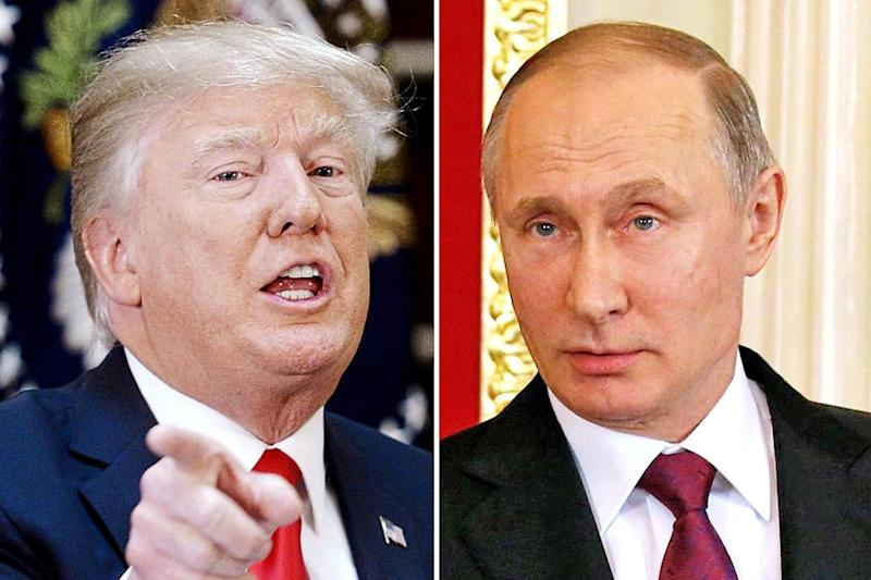 Power play: Syria is the first big test of the relationship between Donald Trump and Vladimir Putin