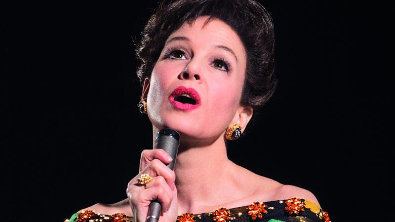 Renee Zellweger as Judy Garland (Credit: Pathe)