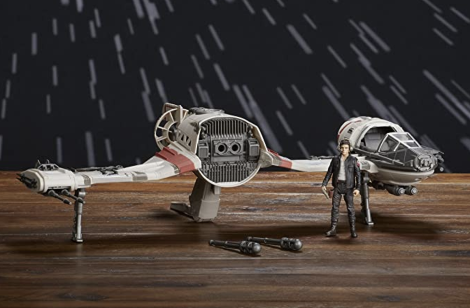 Star Wars Force Resistance Ski Speeder and Captain Poe Dameron Figure. (PHOTO: Amazon)