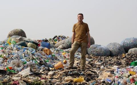 Chris Packham investigates our treatment of our planet - Credit: Charlie Russell/BBC