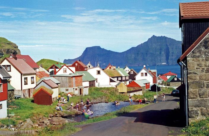 <p>While you're in the Faroe Islands, hop over from the capital to the island of Eysturoy. The jagged, rocky cliffs make it rife with adventure like bird-watching and hiking. </p>