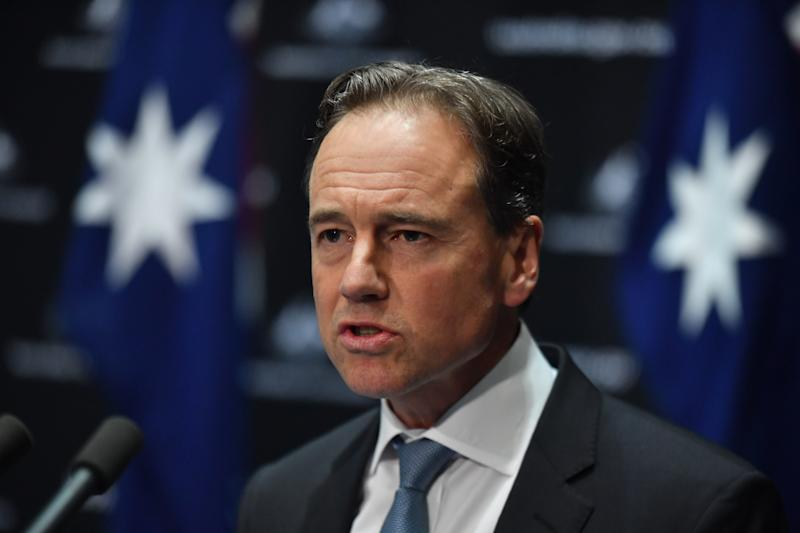 Australia's Health Minister Greg Hunt warned people not to become complacent as coronavirus restrictions are eased.