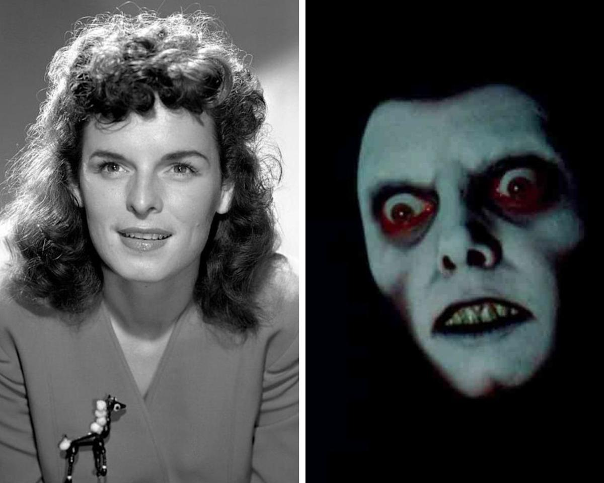<p>Even though Pazuzu only flashes on the screen for several seconds in <em>The Exorcist</em>, the visual leaves a terrifying and lasting impression long after the credits roll. The voice behind the petrifying Pazuzu demon belongs to actress Mercedes McCambridge, who started her career in radio in the 1940s. She later starred in the original cast of the soap, <em>Guiding Light</em>, and has appeared in films such as <em>All the King's Men</em> (1949), for which she earned an Academy Award nomination for Best Supporting Actress.</p>