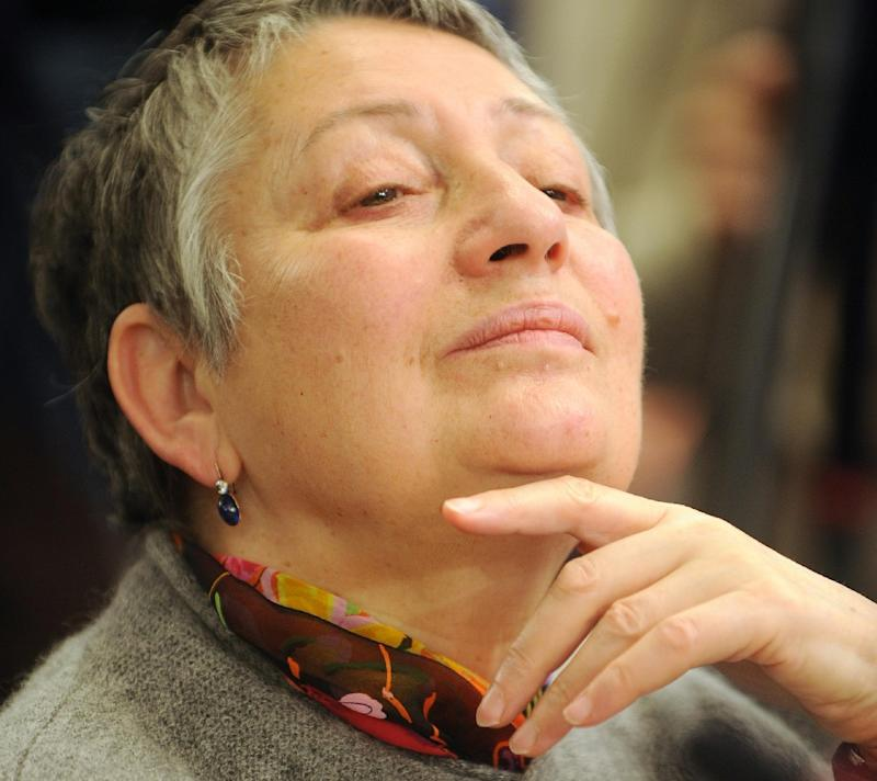 Russian assailants threw bright green antiseptic on prominent writer Lyudmila Ulitskaya