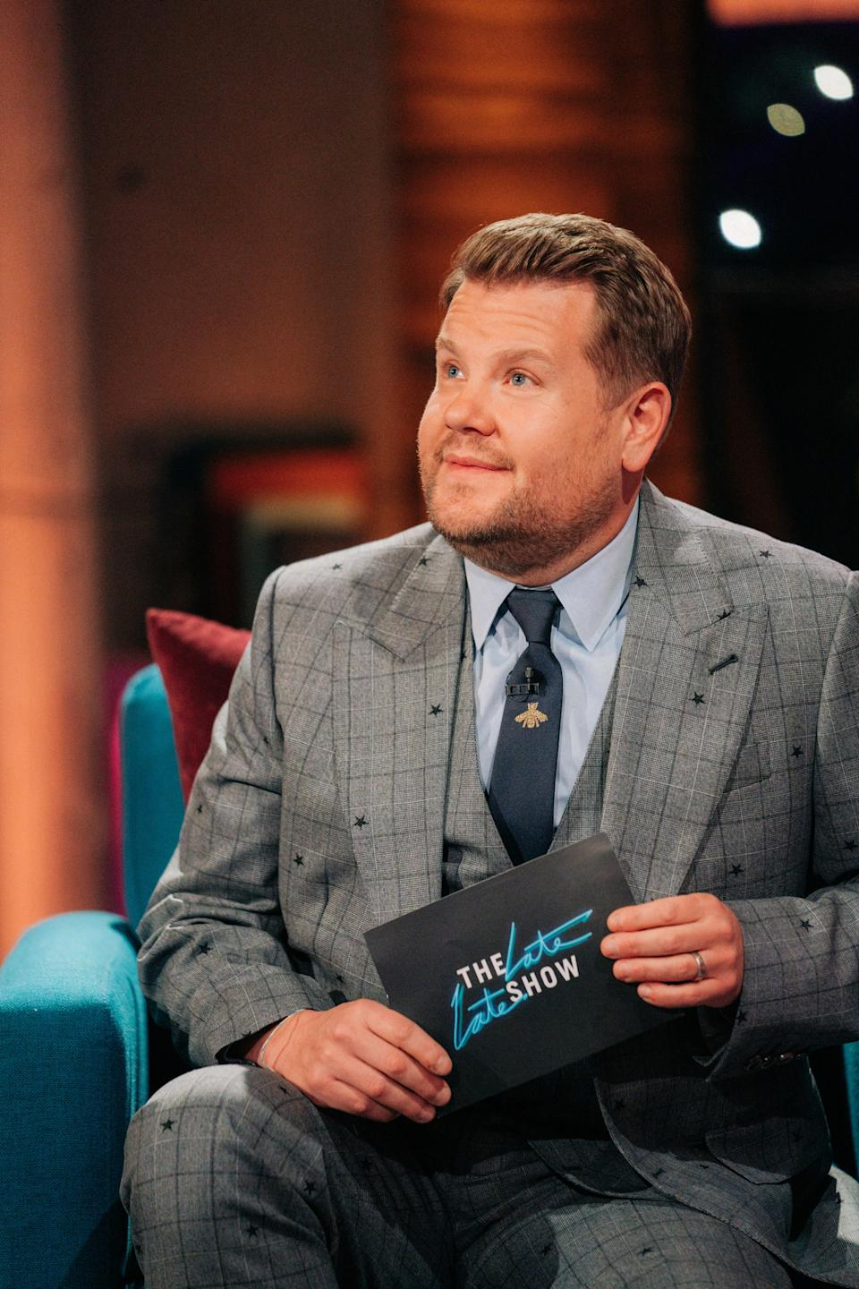LOS ANGELES - APRIL 15: The Late Late Show with James Corden airing Monday, May 3, 2021, with guest Tiffany Haddish. (Photo by Terence Patrick/CBS via Getty Images)