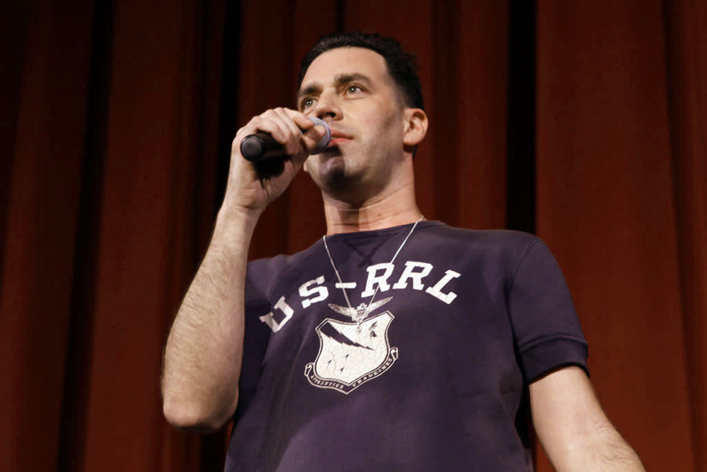 """Cast member John Roberts performs during """"Bob's Burgers Live!""""  at the WIlshire Ebell Theatre on Tuesday, May 7 in Los Angeles, CA."""
