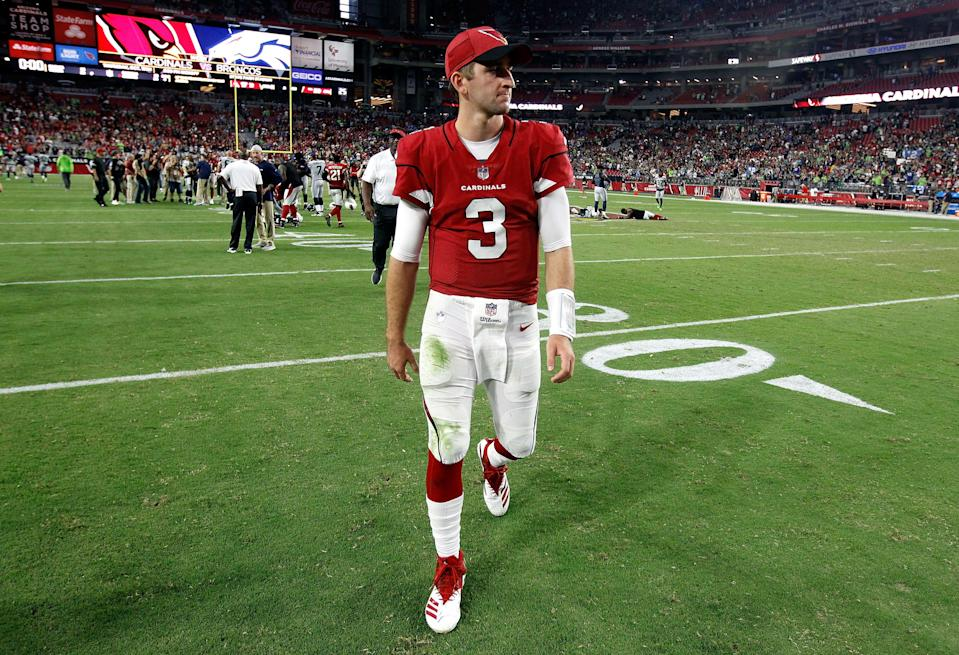 He's not following: Cardinals QB Josh Rosen has stopped following the team's social media accounts. (Getty Images)